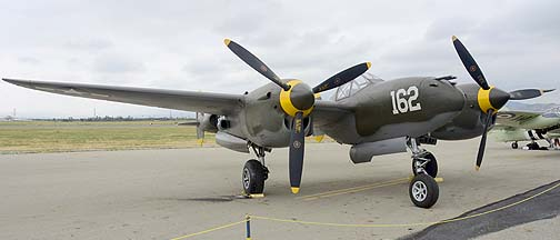 Lockheed P-38J Lightning NX138AM 23 Skidoo, May 14, 2011